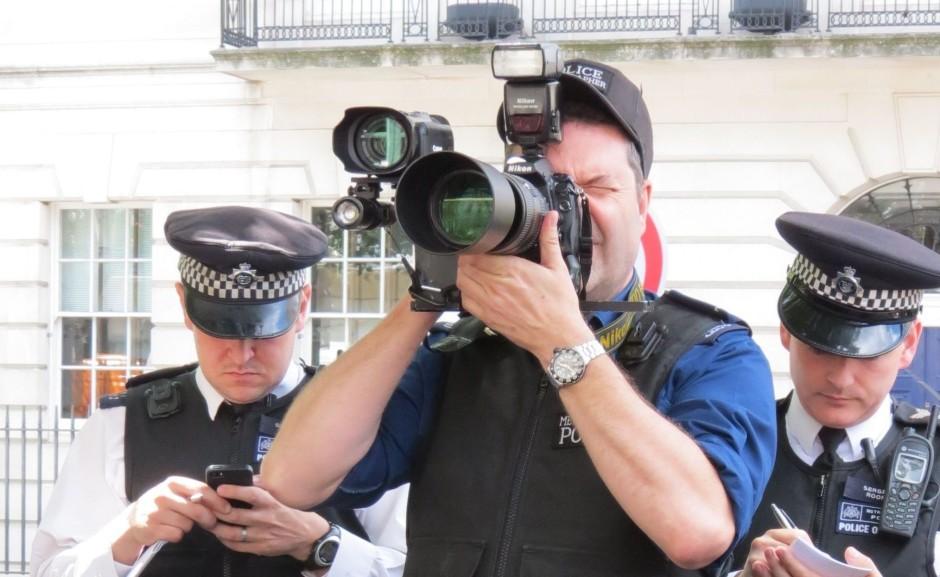 Police photograher