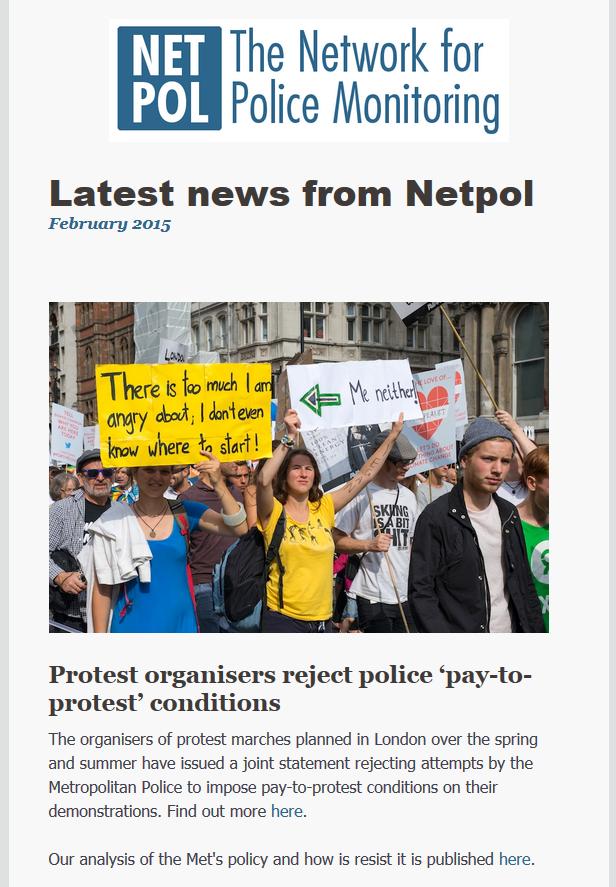Fenruary 2015 newsletter
