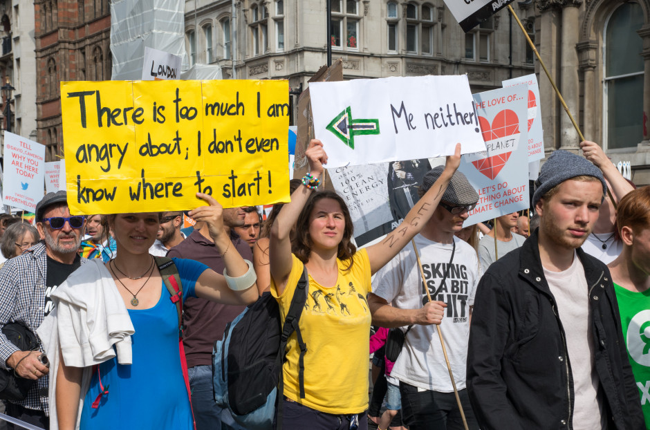 People's Climate March London, 21st September 2014. PHOTO: RonF on Flickr
