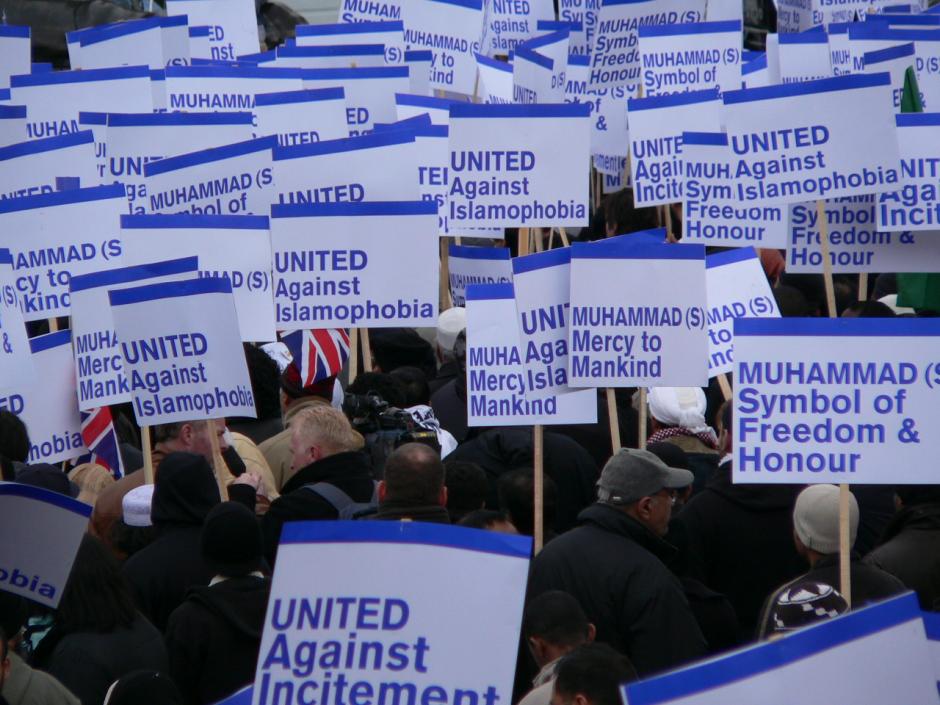 Islamophobia protest