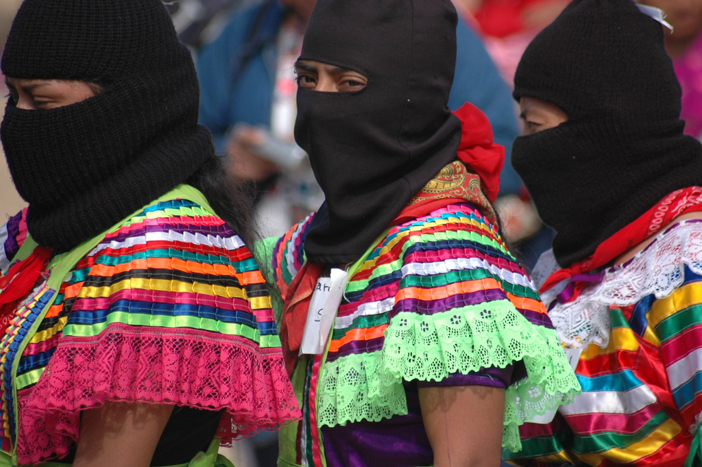 Mask Everyone Wearing The Way Is Into Invite Zapatistas A LqUMGzpjSV