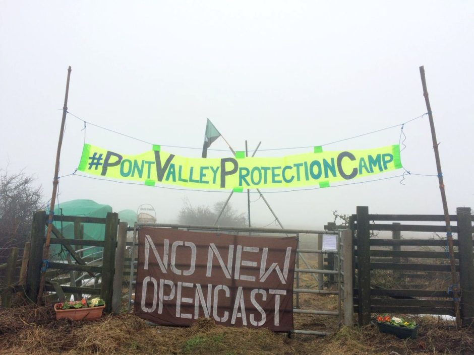 Pont Valley Protection Camp