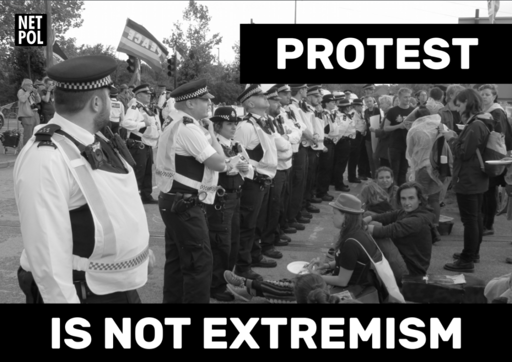 Five paranoid reasons why the police label campaigners as